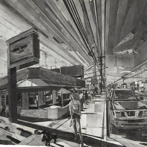 Black-and-White-Collages-of-Urban-Scenes1-900x645